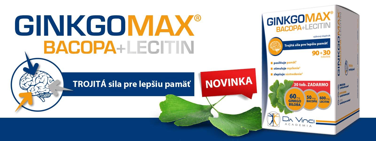 GinkgoMax Bacopa+Lecitín